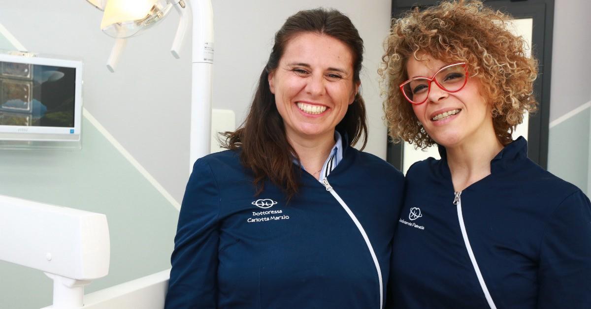 staff clinico Studio Ortodontico Carlotta Marzio